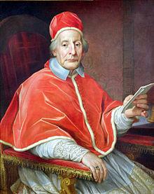 Retrato del Papa Clemente XII
