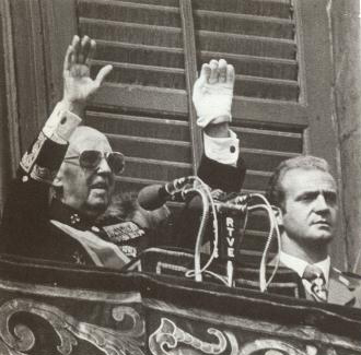 Franco y Don Juan Carlos