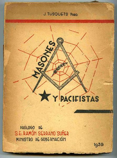 Portada de uno de los panfletos de Mosén Tusquets