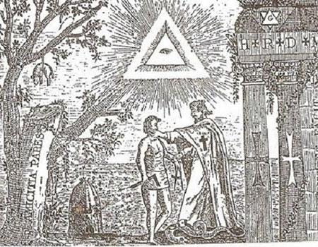 El abrazo de los Templario con los masones