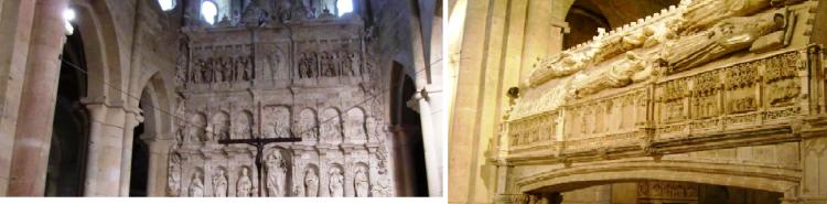 Vistas y detalles del Real Monasterio de Poblet