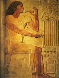 Ptahhotep. Relieve de su tumba en Saqqara