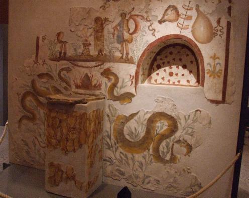 Lararium Pompeya